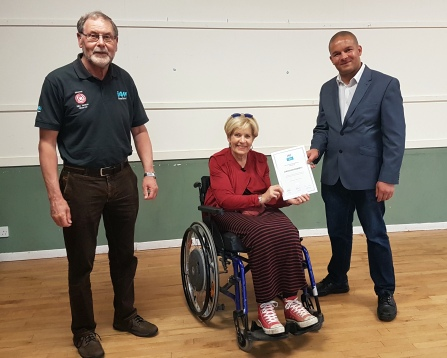 christian-roberts-presentation-by-ann-maw-lord-lieutenant-of-somerset-with-mike-wotton-his-observer
